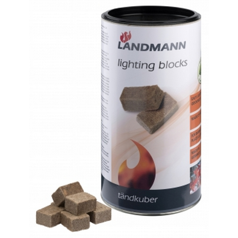 Landmann Tändblock Green Power 100 st