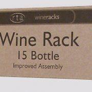 WINE0120 – 15 Bottle Wine Rack 5×2 – Natural Pine – Galv Steel-Self Assemble-Pack Shot (2)