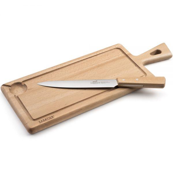 Lion Sabatier Kockkniv och skärbräda