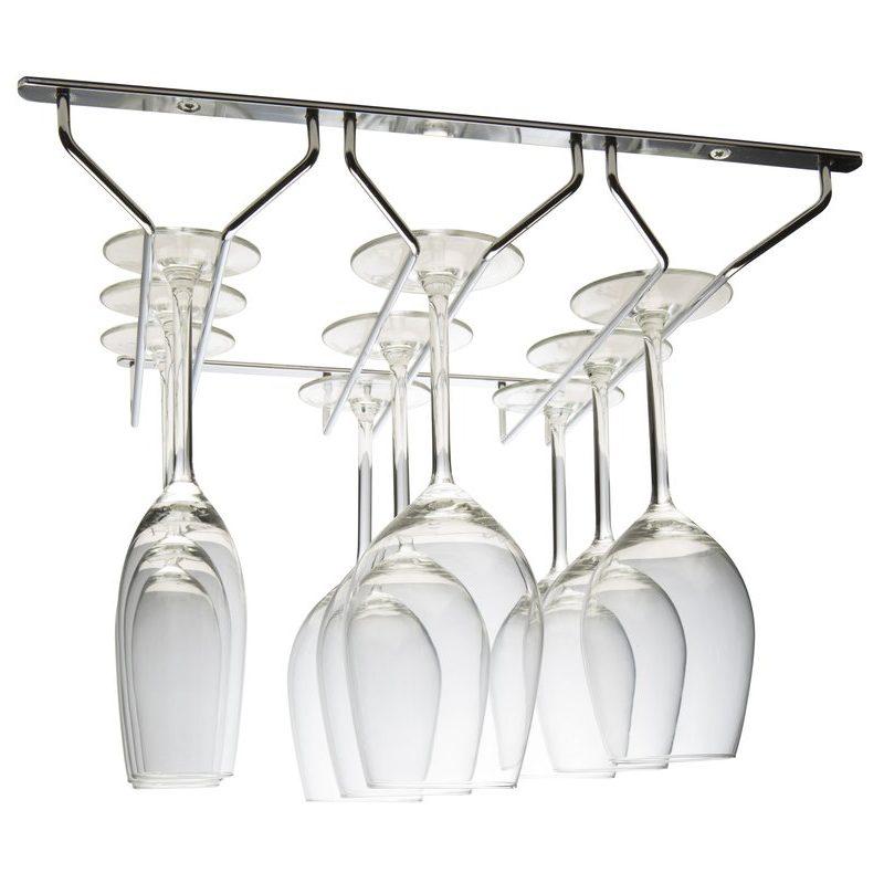 Hahn Glashängare 3 rader krom