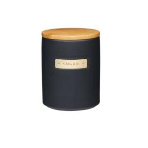 Master Class Sockerburk svart och bambu
