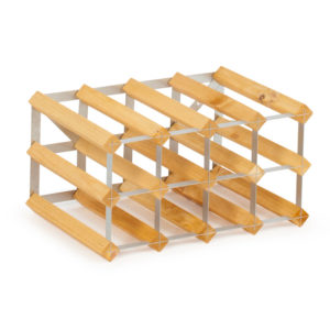 Traditional Wine Racks Vinställ 12 Flaskor Light oak