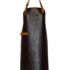Xapron Skinnförkläde New York Brown 82 cm
