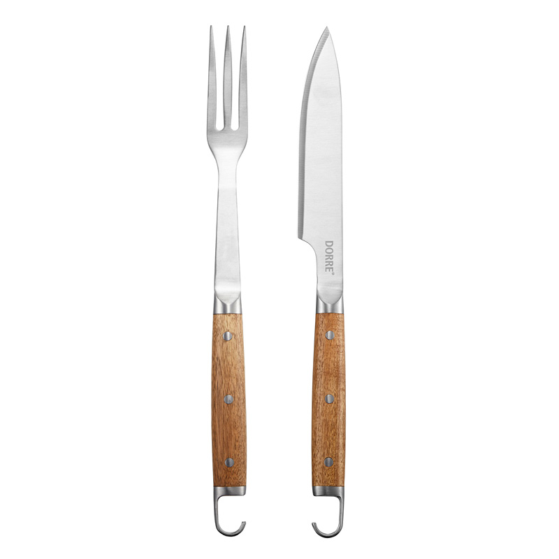 BBQ-set Gaffel & kniv Dorre