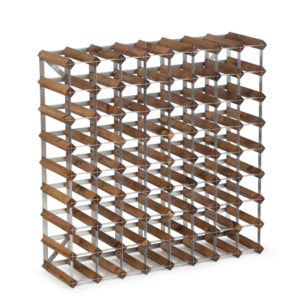 Vinställ Dark Oak 72 flaskor Traditional Wine Racks