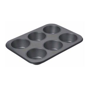 KitchenCraft Muffinsplåt Jumbo 6 hål