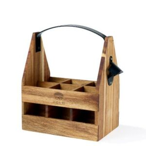 Holm Öllåda flaskback trä och smide
